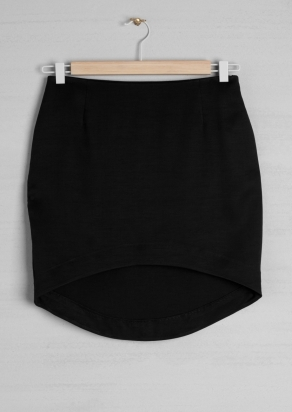 CURVED HEM SKIRT-OTHER STORIES