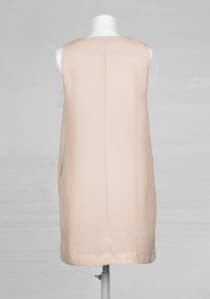 SLEEVELESS DRAPED DRESS-OTHER STORIES-1