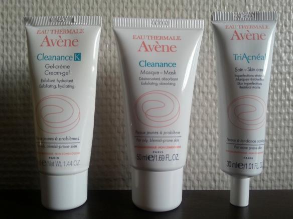 Avene-cleanance-gamme