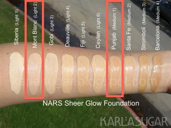NARS-Sheer-Glow-Swatchs